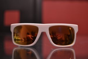 Vanderpool Designs Future product- 3D Printed Sunglasses Prototype